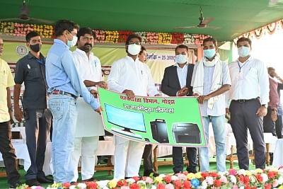 झारखंड के संथाल परगना में मुख्यमंत्री हेमंत सोरेन ने 7900 लाख की योजनाओं का किया शिलान्यास