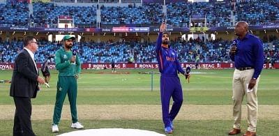 टी20 विश्व कप: पाकिस्तान ने जीता टॉस किया गेंदबाजी का फैसला (लीड-1)