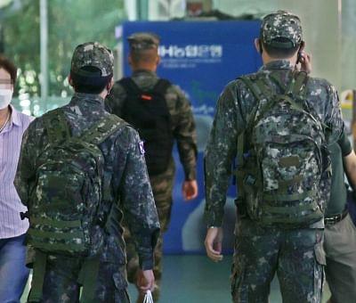 दक्षिण कोरियाई सेना के बूट कैंप में 5 और सैनिक कोविड पॉजिटिव
