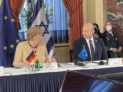 मर्केल अपनी अंतिम आधिकारिक यात्रा पर इजरायल पहुंचीं