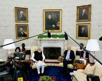 मोदी, बाइडेन के निर्धारित भारत-अमेरिका के एजेंडे को आगे बढ़ाएंगे वरिष्ठ अधिकारी