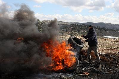 फिलिस्तीन ने वेस्ट बैंक में नई इजरायली बस्ती के निर्माण की निंदा की