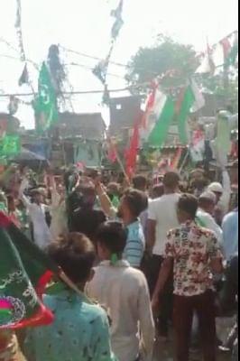 नोएडा: जुलूस में हिंदुस्तान जिंदाबाद के बीच लगे पाकिस्तान जिंदाबाद के नारे, तीन गिरफ्तार