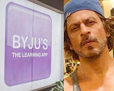 आर्यन ड्रग केस : बायजूस ने शाहरुख के विज्ञापनों पर अस्थायी रूप से लगाई रोक