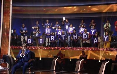 अश्विनी अय्यर तिवारी ने केबीसी 13 के सेट पर बिग बी को दिया सरप्राइज