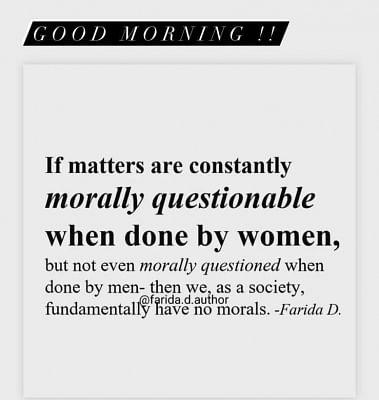 सामंथा ने पुरुषों, महिलाओं के लिए अलग-अलग मानक रखने के चलते समाज पर कसा तंज