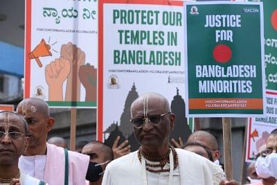 इस्कॉन-बैंगलोर ने भारत सरकार से बांग्लादेश में हिंदुओं की रक्षा करने का आग्रह किया