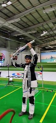 जू. निशानेबाजी : नाम्या कपूर ने 25 मीटर पिस्टल में जीता स्वर्ण