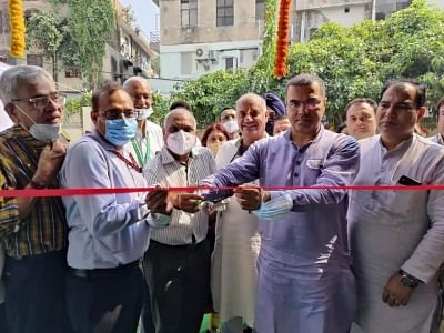 दक्षिणी दिल्ली नगर निगम ने 2 अस्पतालों में स्थापित ऑक्सीजन प्लांट जनता को समर्पित किए