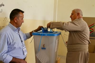 इराक में मध्यावधि संसदीय चुनावों के लिए मतदान जारी