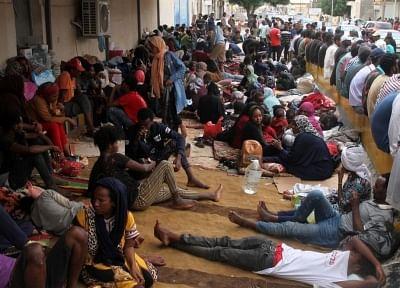 लीबिया में शरण चाहने वाले की हत्या से यूएनएचसीआर परेशान