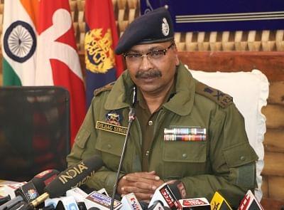 हाल के दिनों में हुई हत्यायों के पीछे शामिल लोगों का जल्द ही पदार्फाश किया जाएगा : जम्मू-कश्मीर डीजीपी