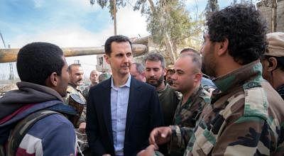 सीरियाई युद्ध के बाद पहली बार असद ने जॉर्डन के राजा को फोन किया