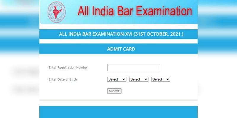 AIBE 16 Admit Card: ऑल इंडिया बार एग्जाम का एडमिट कार्ड जारी, ऐसे करें डाउनलोड