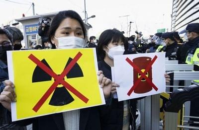 दक्षिण कोरिया ने समुद्र में वाटर रिलीज योजना पर चिंता व्यक्त की