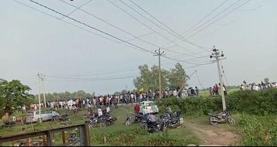 लखीमपुर खीरी हिंसा : वायरल वीडियो में दिखाया गया मंत्री का वाहन किसानों को कुचल रहा है