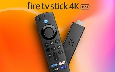 अमेजन फायर टीवी स्टिक 4के मैक्स अब भारत में 6,499 रुपये में उपलब्ध