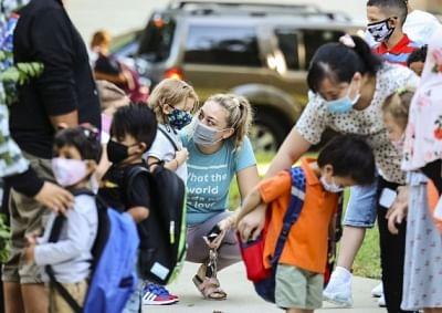 शिकागो के स्कूलों में कोविड के 1,400 नए मामले सामने आए