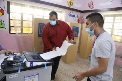इराकी संसदीय चुनावों में 41 फीसदी मतदान