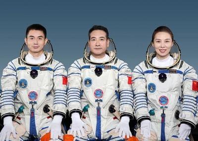 चीन अन्य देशों के अंतरिक्ष यात्रियों का चीनी अंतरिक्ष स्टेशन में प्रवेश करने का स्वागत करता है