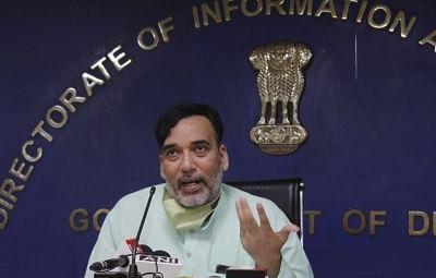दिल्ली के बढ़ते प्रदूषण स्तर के लिए पड़ोसी राज्य जिम्मेदार : राय