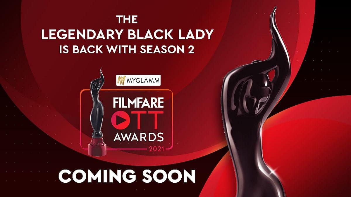 फिल्मफेयर ने ओटीटी पुरस्कारों के दूसरे एडीशन की घोषणा की