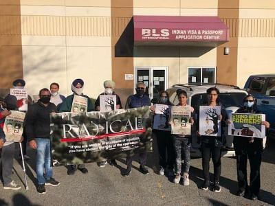 कनाडा में लखीमपुर खीरी हिंसा के खिलाफ रैली का आयोजन