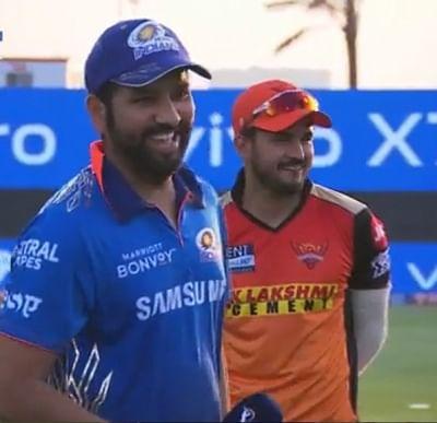 आईपीएल 2021: मुंबई ने जीता टॉस, किया बल्लेबाजी का फैसला