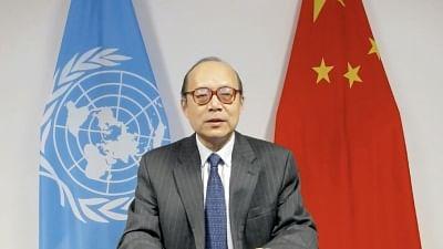 संबंधित देशों द्वारा लोकतंत्र के बहाने दूसरे देशों में हस्तक्षेप करने और दबाने का विरोध - चीनी प्रतिनिधि