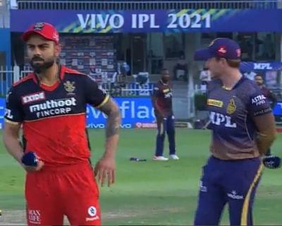 आईपीएल 2021: बैंगलोर ने टॉस जीतकर किया बल्लेबाजी का  फैसला