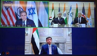भारत, इजरायल, अमेरिका, यूएई की मंत्रिस्तरीय बैठक से एम-ई क्वाड की संभावना (समाचार विश्लेषण)