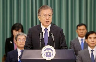दक्षिण कोरियाई राष्ट्रपति ने पूर्ववर्ती की तुलना में दूसरी तिमाही में उच्चतम अनुमोदन दर्ज किया