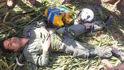 मप्र में भारतीय वायुसेना का विमान मिराज 2000 दुर्घटनाग्रस्त, पायलट सुरक्षित बाहर