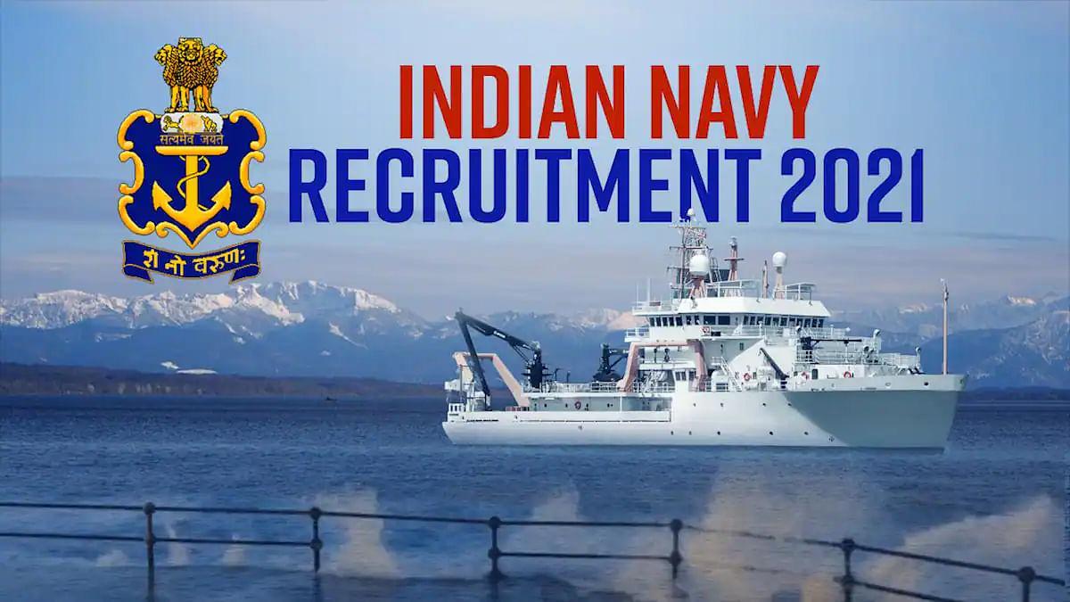 भारतीय नौसेना में निकली 300 रिक्त पदों पर भर्ती, मैट्रिक पास तुरंत करें अप्लाई
