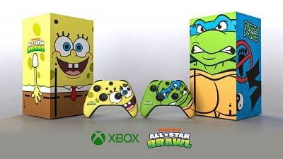 xbox-announces-series-x-spongebob-squarepants-themed-version