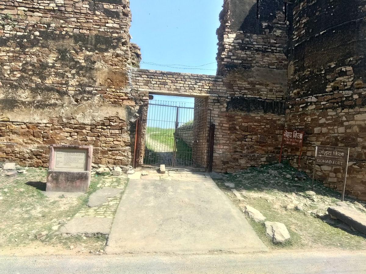 गोहद किला के बारे में जानकारी - Gohad Fort in Hindi