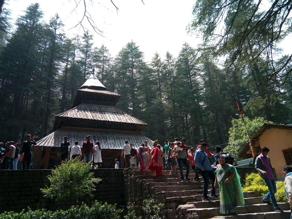 हिडिम्बा देवी मंदिर मनाली के बारे में जानकारी - Hidimba Devi Temple in Hindi