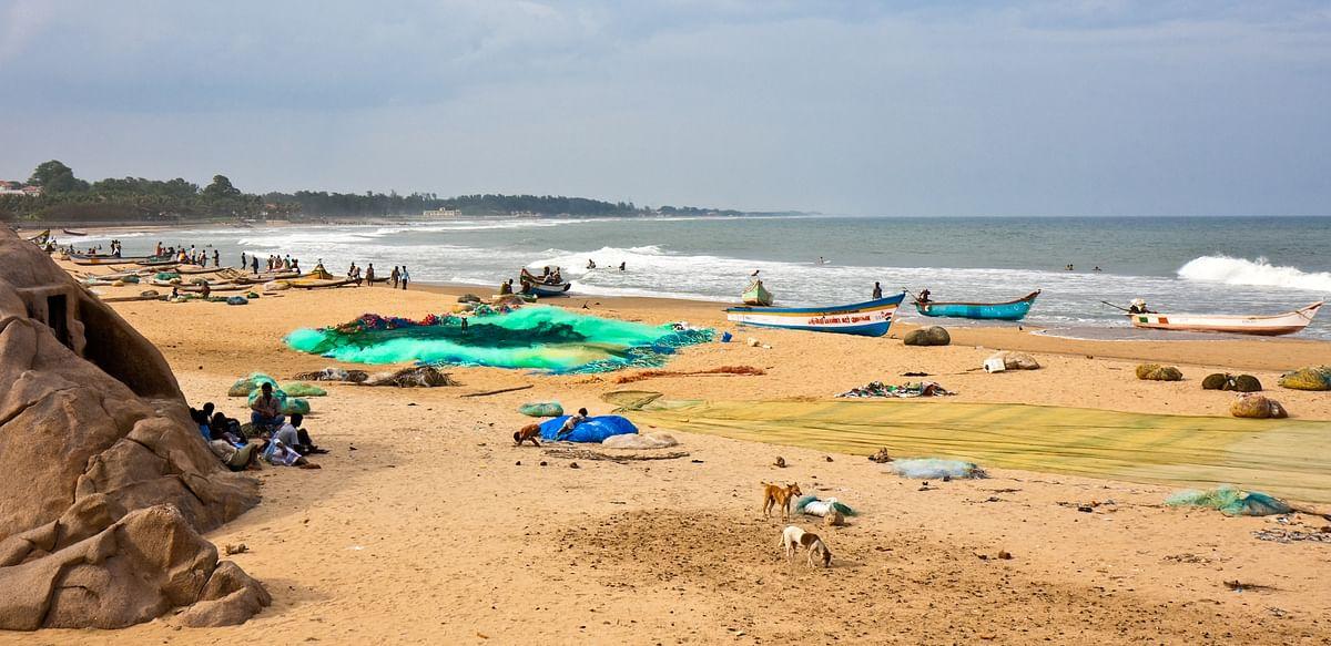 महाबलीपुरम बीच के बारे में जानकारी - Mahabalipuram Beach Tamil Nadu in Hindi