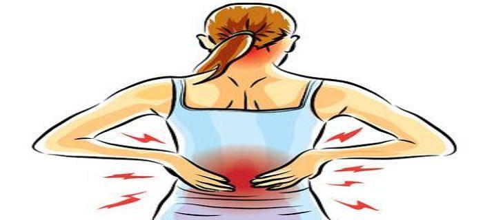 महिलाओं में कमर दर्द की शिकायत के कारण