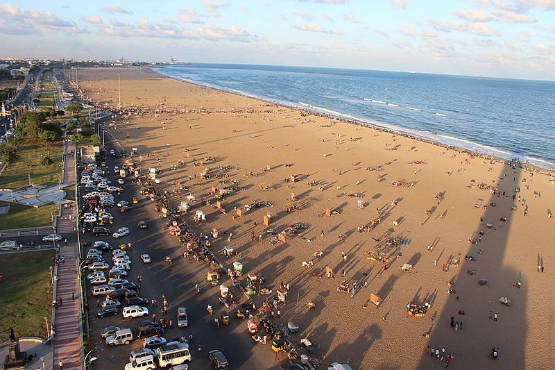 मरीना बीच के बारे में जानकारी - Marina Beach Chennai in Hindi