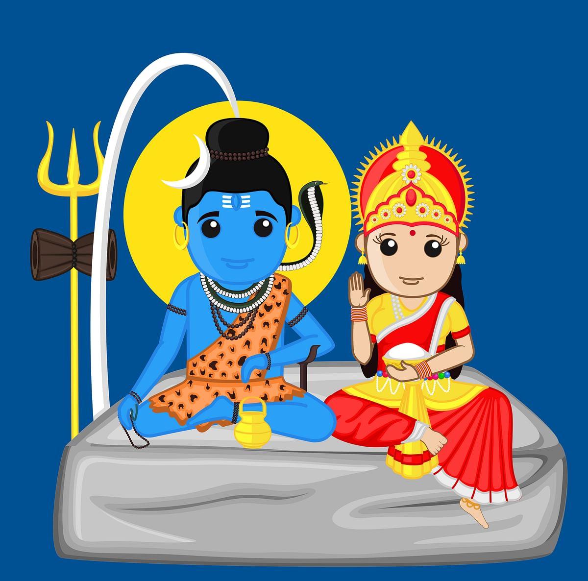 पार्वती जी- Devi Parvati Ji