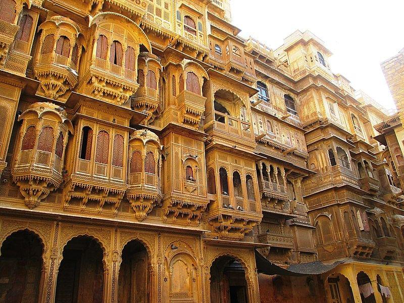 पटवों की हवेली जैसलमेर के बारे में जानकारी- Patwon ki haveli jaisalmer in Hindi
