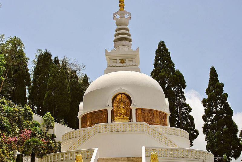 पीस पैगोडा के बारे में जानकारी - Peace Pagoda in Hindi