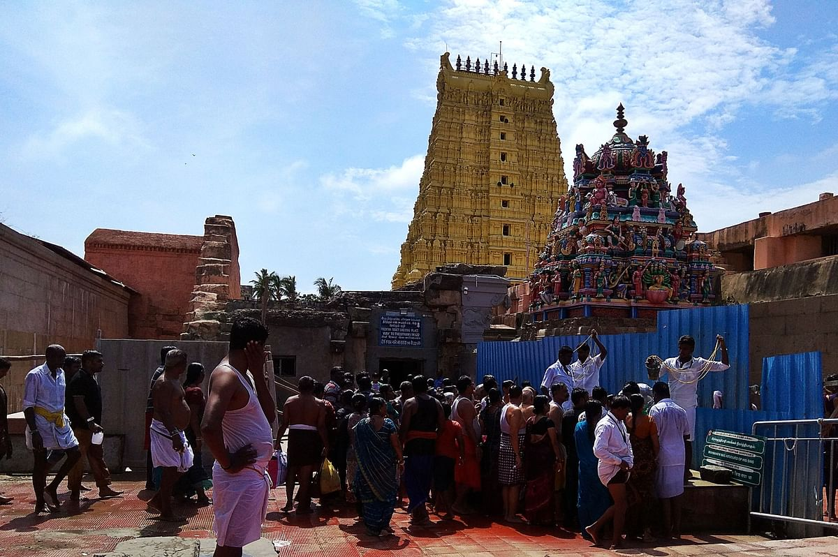 रामेश्वरम के बारे में - Rameshwaram mandir in Hindi