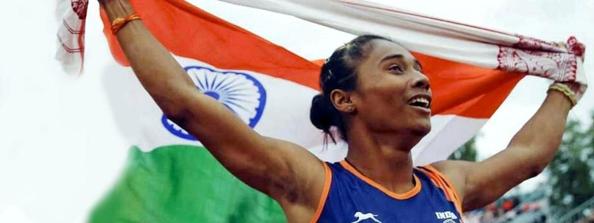 भारतीय धावक हिमा दास