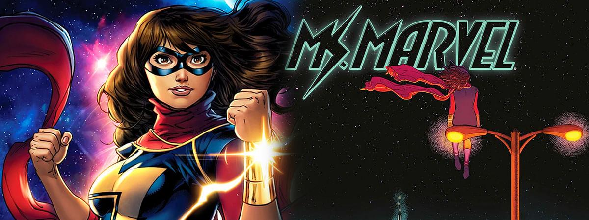 पहली मुस्लिम सुपरहीरो 'मिस मार्वल'