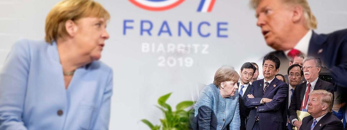 फ्रांस के बियारित्ज में जी-7 देशों की 45वीं बैठक