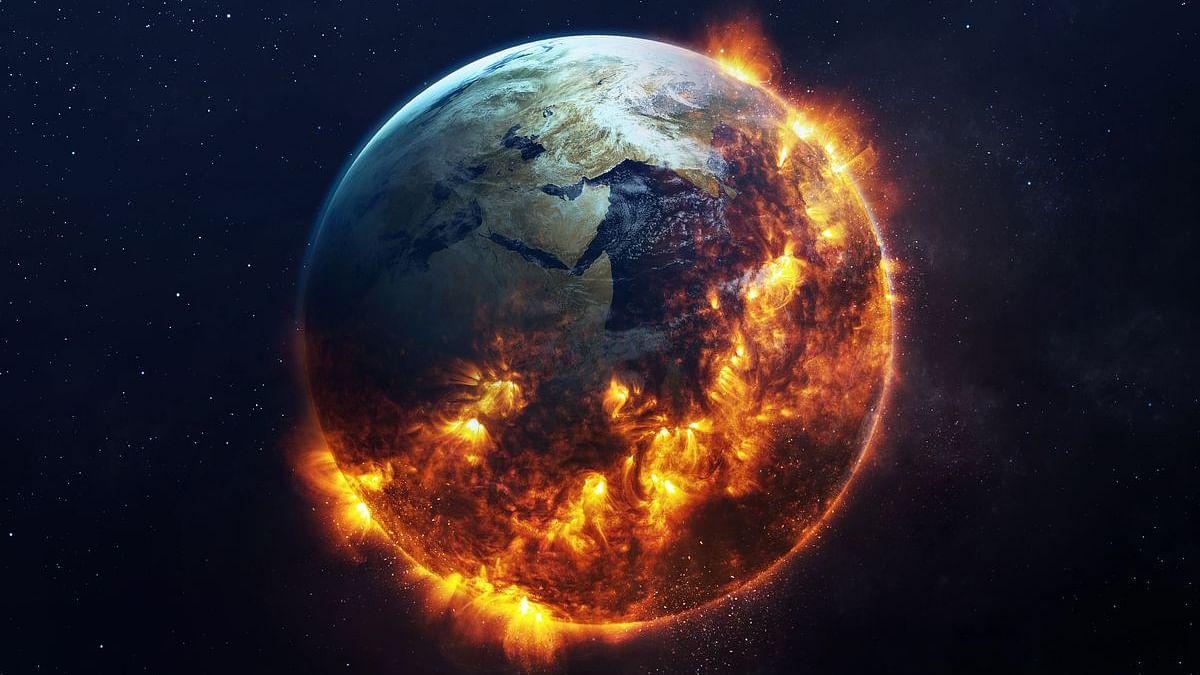 कार्बन उत्सर्जन से गरमाती धरती