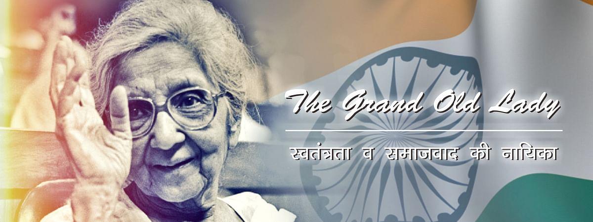 Aruna Asaf Ali's contribution to freedom