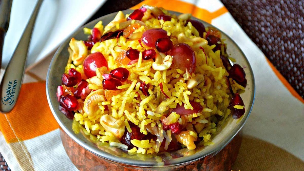स्वादिष्ट 'कश्मीरी पुलाव'